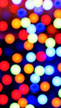 Colorful Spots Background iPhone 5s wallpaper