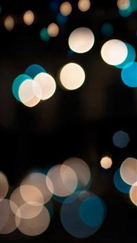 Abstract Spot Dark Bokeh Flare iPhone 5s wallpaper