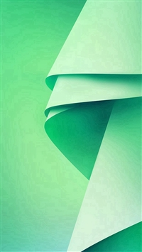 Green Abstract Folding Pattern iPhone 5s wallpaper