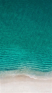 Sea Ocean Green Minimal Nature Wave Earth iPhone 5s wallpaper