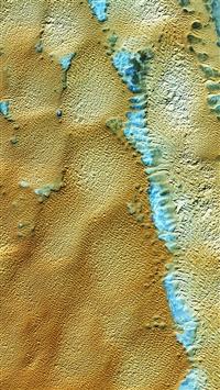 Nature Earthview Algeria Orange iPhone 5s wallpaper