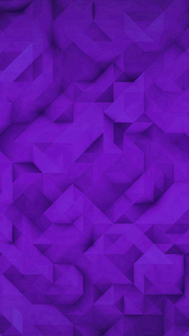 Polygon Art Purple Triangle Pattern iPhone wallpaper