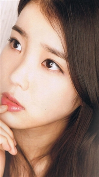 Kpop IU Girl Music Cute iPhone 5s wallpaper