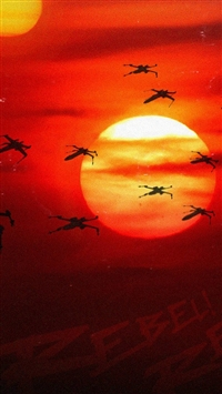 Rogue One Starwars Poster Illustration Art iphone wallpaper ilikewallpaper com 200