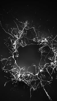 Crack Glass Dark Bw Texture Pattern iPhone 5s wallpaper