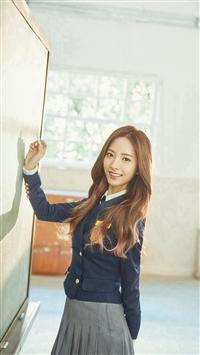 Kpop Spacegirl Cute Lovely Sweet Blackboard iPhone 5s wallpaper