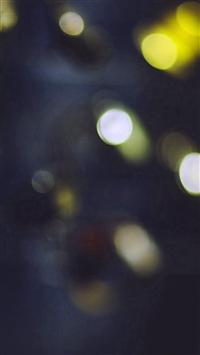 Bokeh Watch Yellow Blue Lights Pattern iPhone 5s wallpaper