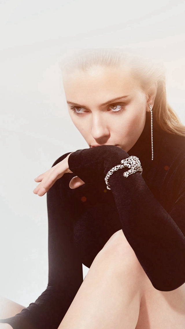 Model Celebrity Scarlett Johansson Actress iPhone wallpaper
