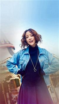 Guhara Girl Kpop Merry Go Round Playground iPhone 5s wallpaper