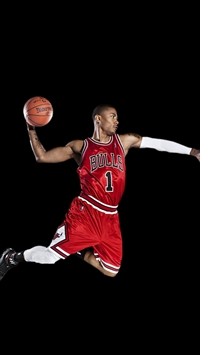 Chicago Bulls Derrick Rose iPhone 5s wallpaper