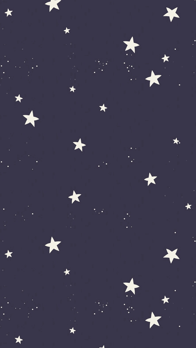 Simple Stars Pattern Dark Background Iphone Wallpapers Free Download