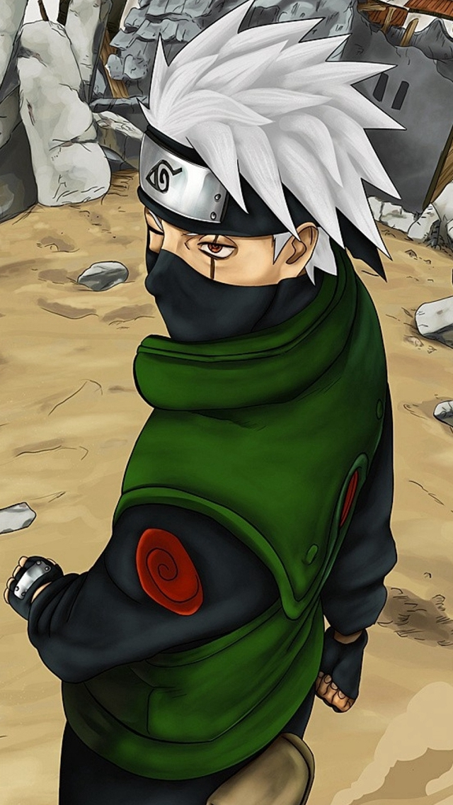 Naruto Shippuuden Naruto Man Mask Sand Iphone Wallpapers