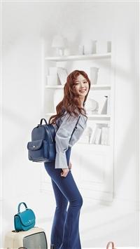 Kpop Girl School Spring iPhone 5s wallpaper
