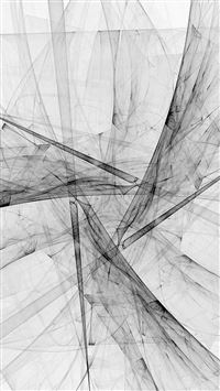 Triangle Art Abstract Bw White Pattern iPhone 5s wallpaper