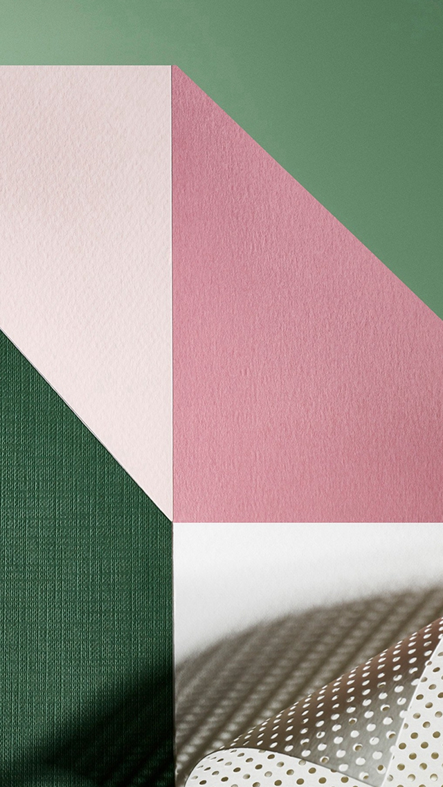 Paper Color Rainbow Illustration Art iPhone wallpaper