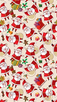 Santa Claus Texture Background Pictures iPhone 5s wallpaper