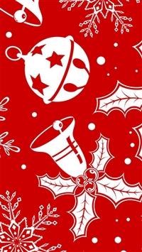 Christmas Decoration Theme iPhone 5s wallpaper