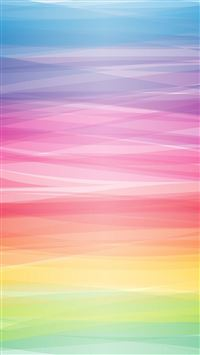 Pastel Colorful Smooth Lines iPhone 5s wallpaper