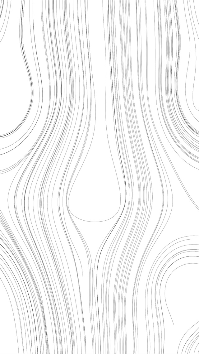 Lines Curve White Bw Pattern iPhone wallpaper