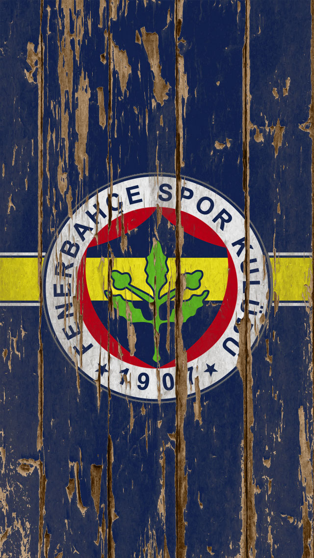 Fenerbahce Football Club Wood Logo Iphone Wallpapers Free