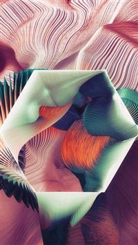 Polygon Plums Ari Weinkle Art Illustration Pattern Blue iPhone 5s wallpaper