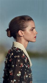 Emma Watson Girl Film Sea iPhone 5s wallpaper