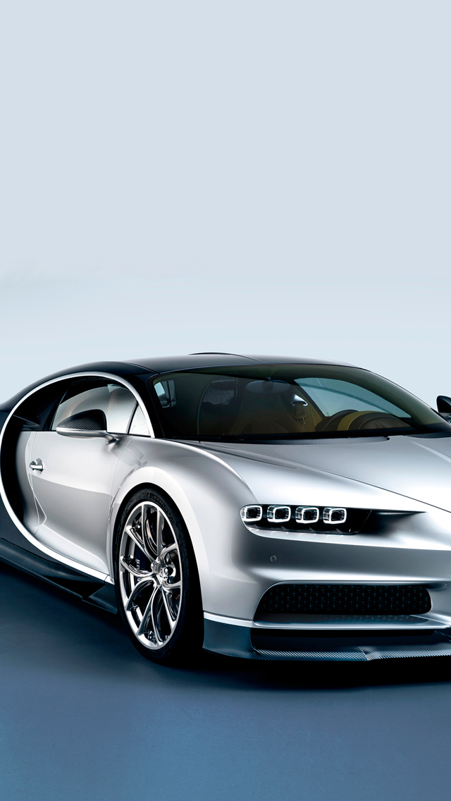 Bugatti Chiron Luxury Car iPhone wallpaper