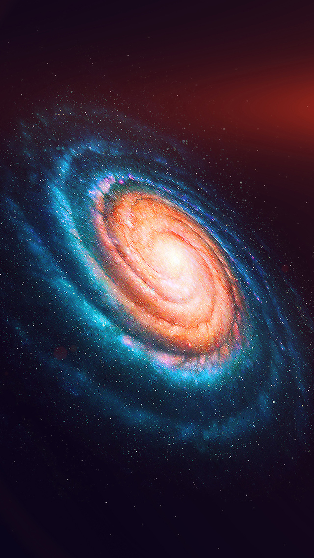Space galaxy iPhone wallpaper