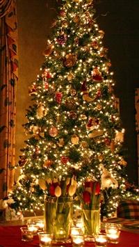 Christmas tree iphone wallpaper ilikewallpaper com 200