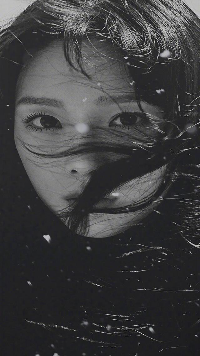 Girl Dark Hair Iphone Wallpapers Free Download