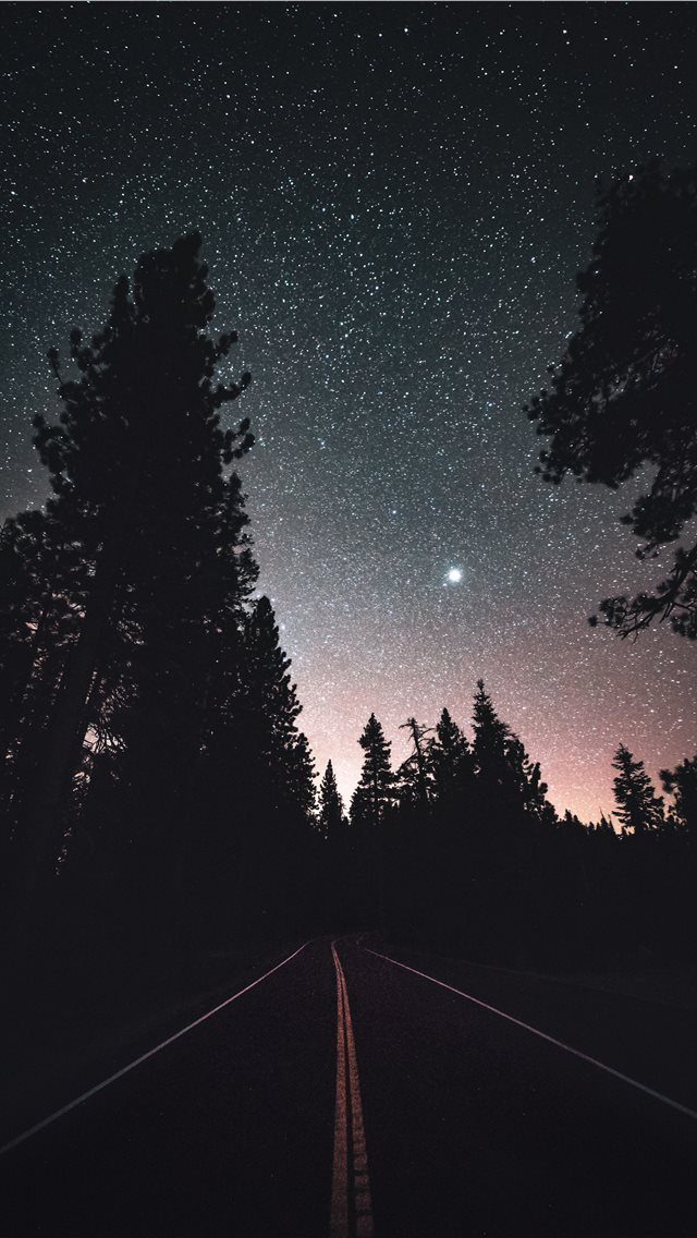 Into the endless night iPhone wallpaper