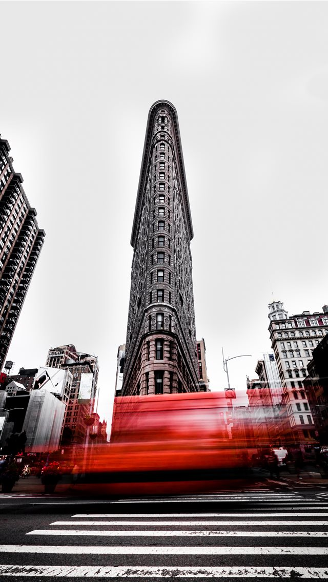 The Flatiron Building New York City Iphone Wallpapers Free