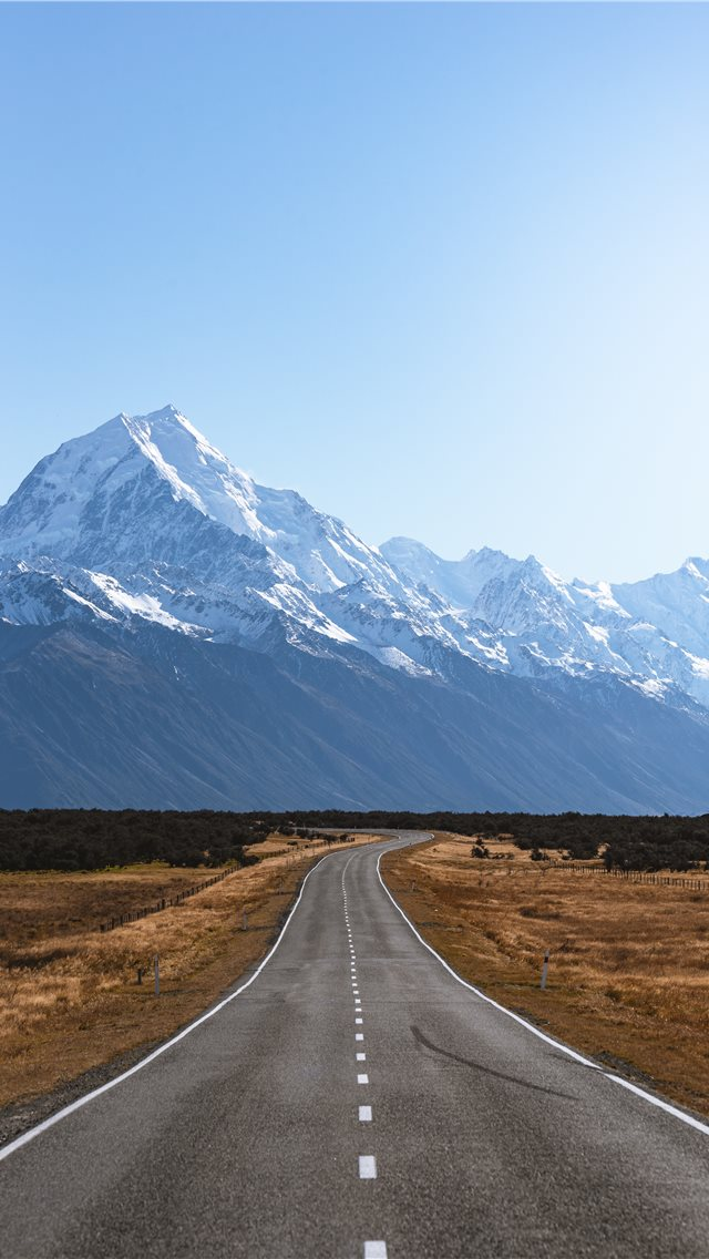 Mount Cook  New Zealand iPhone wallpaper