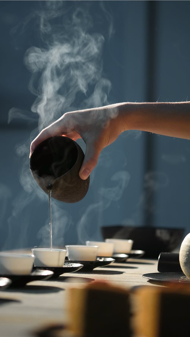 Tea ceremony iPhone wallpaper