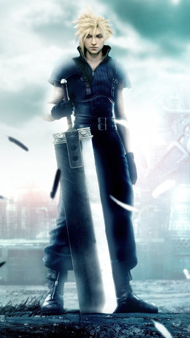 Final Fantasy Boy iPhone wallpaper