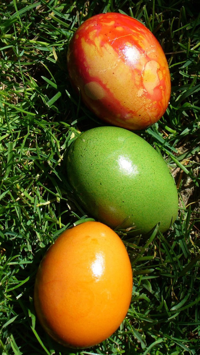 Easter Eggs iPhone wallpaper