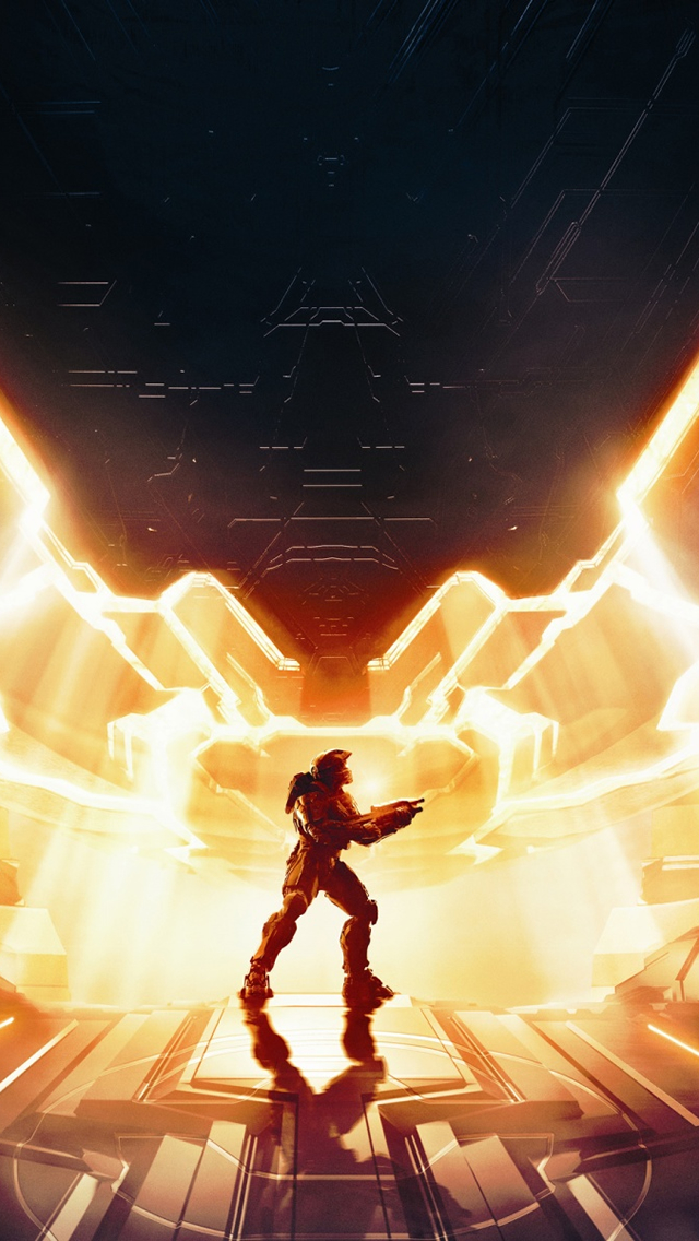 Halo 4 Master Chief iPhone wallpaper