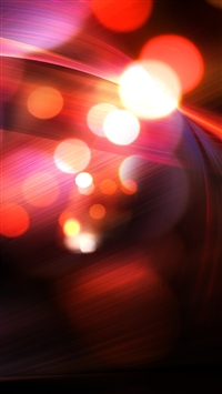Abstract Red Bokeh iPhone 5s wallpaper