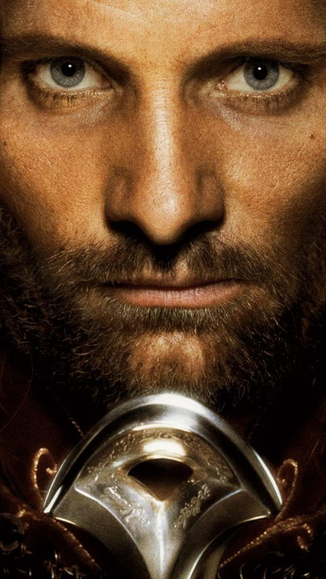 Viggo Mortensen As Aragorn Iphone Wallpapers Free Download