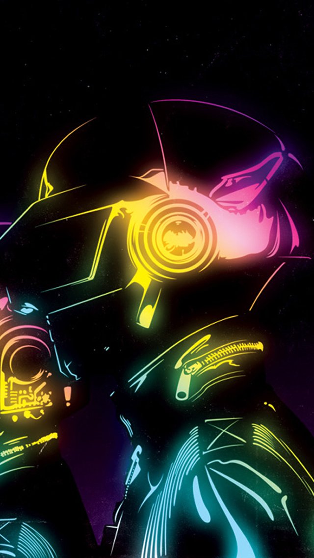 Daft Punk Wallpaper Iphone - All Phone Wallpaper HD