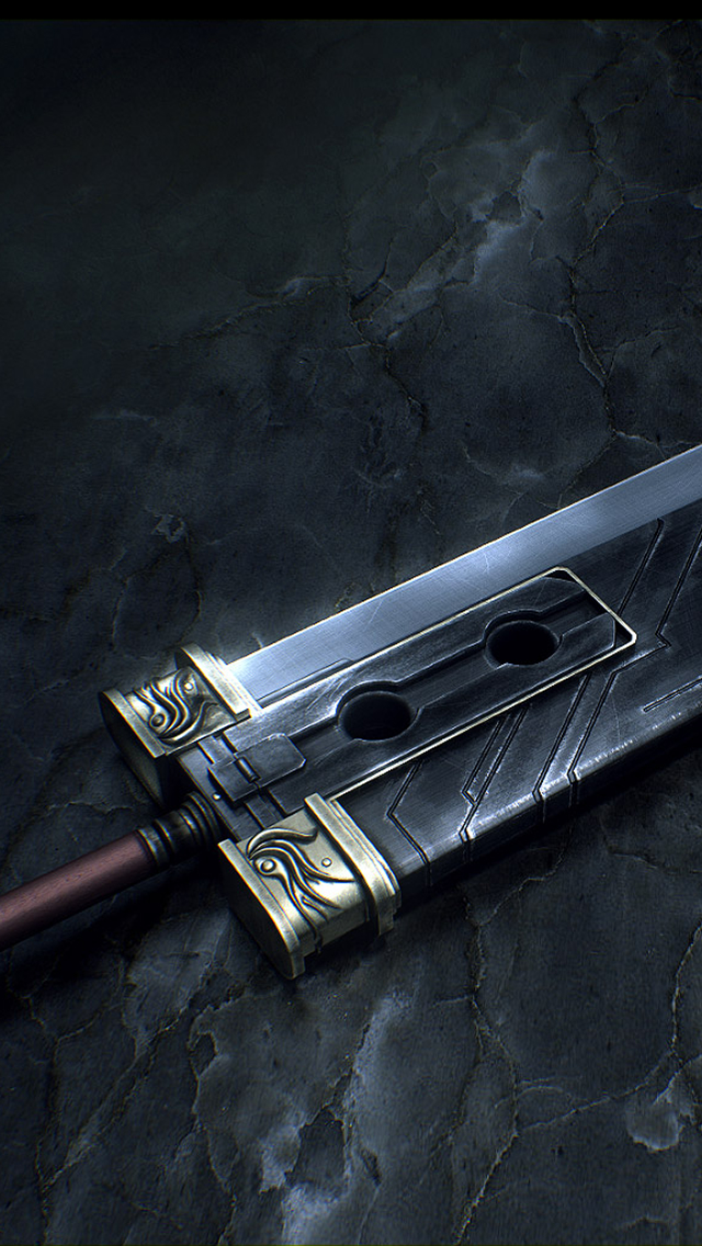 Final Fantasy Sword iPhone wallpaper