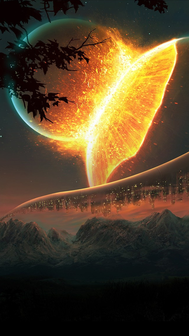 Futuristic Planets Iphone Wallpapers Free Download