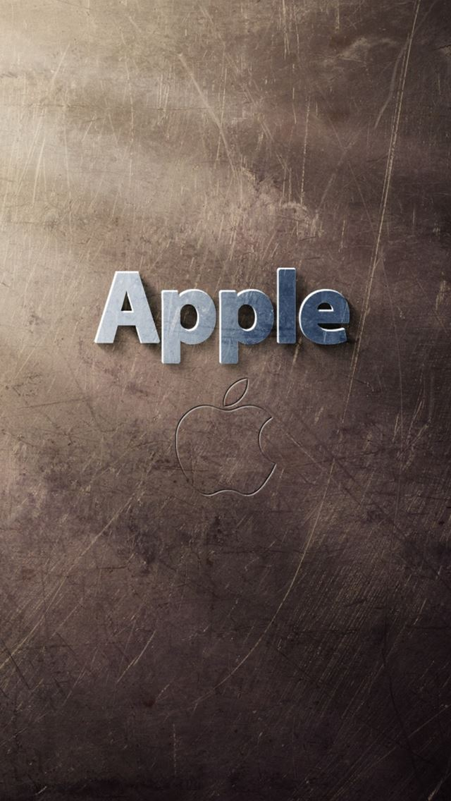 Apple Logo Art iPhone wallpaper