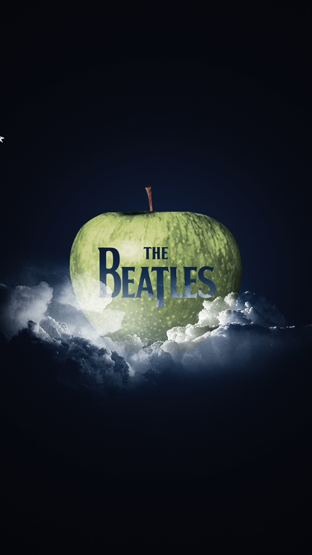 The Beatles Logo iPhone wallpaper