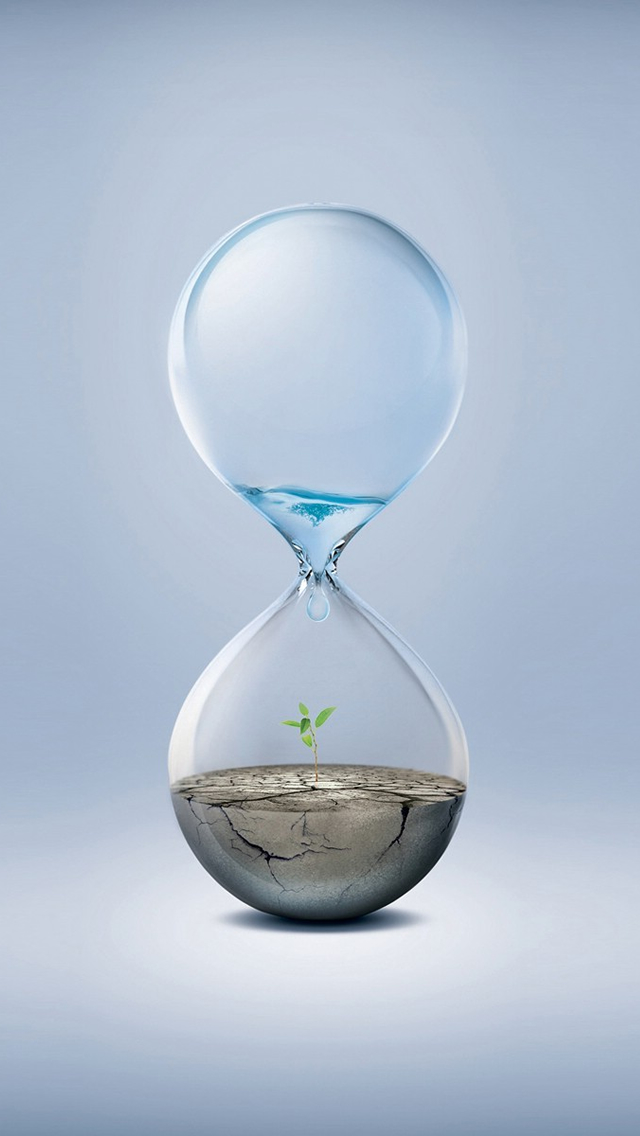 Soil Hourglass iPhone wallpaper