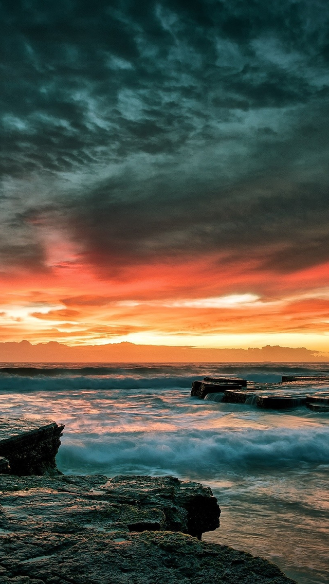 Best Sunset Iphone Wallpapers Hd Ilikewallpaper