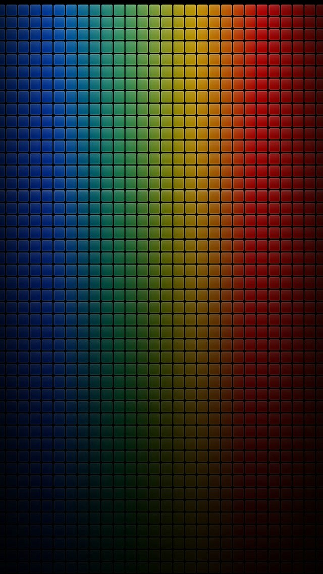 Colorful Dark Grid Iphone Wallpapers Free Download