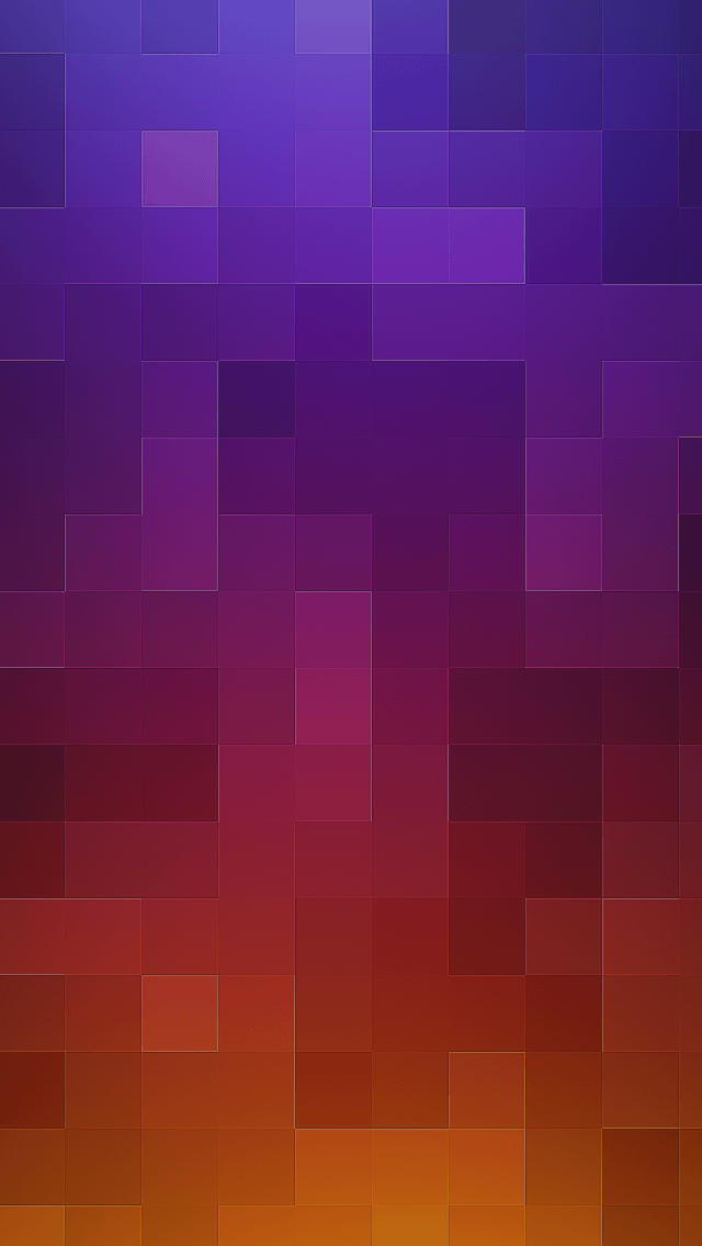Purple to Orange Grid iPhone wallpaper