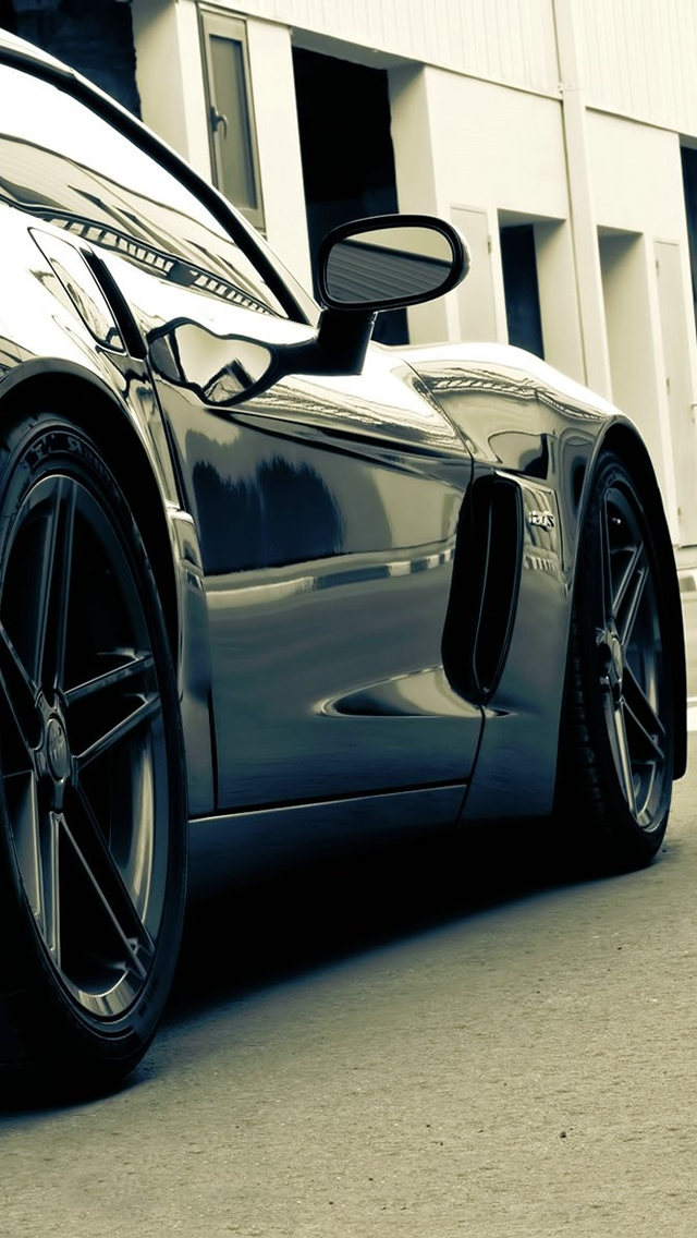 Corvette iPhone wallpaper