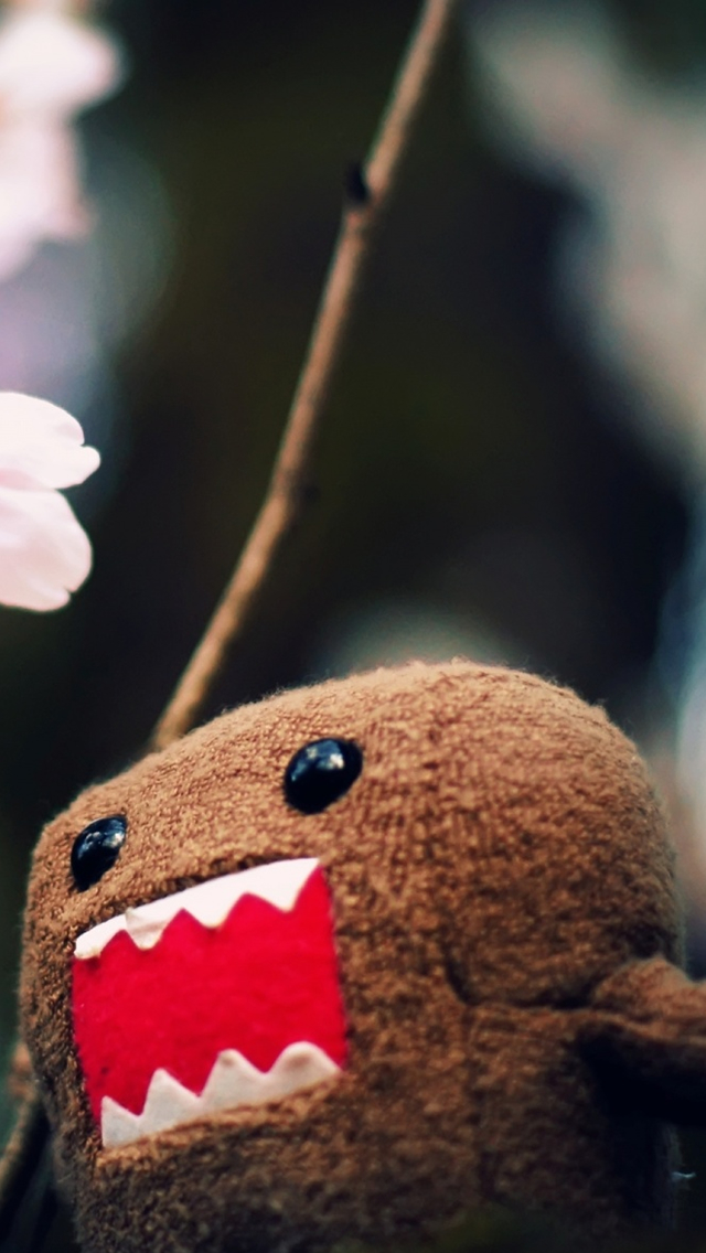 Domo Kun iPhone wallpaper